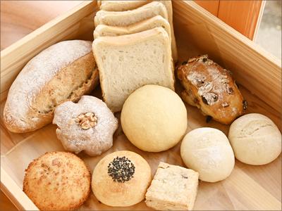 パンの種類変更
